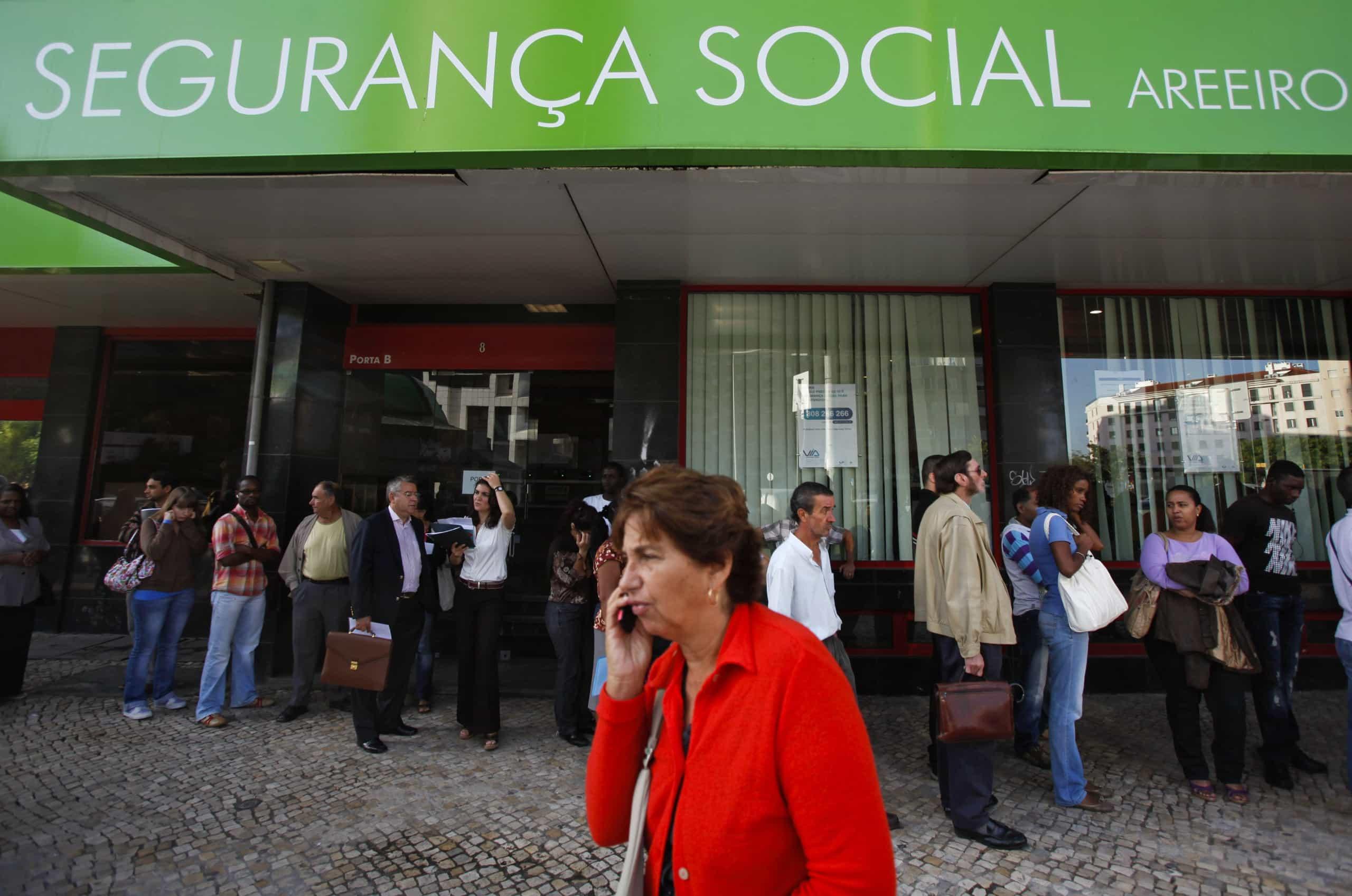 Excedente da Segurança Social sobe para 1,8 mil milhões em setembro