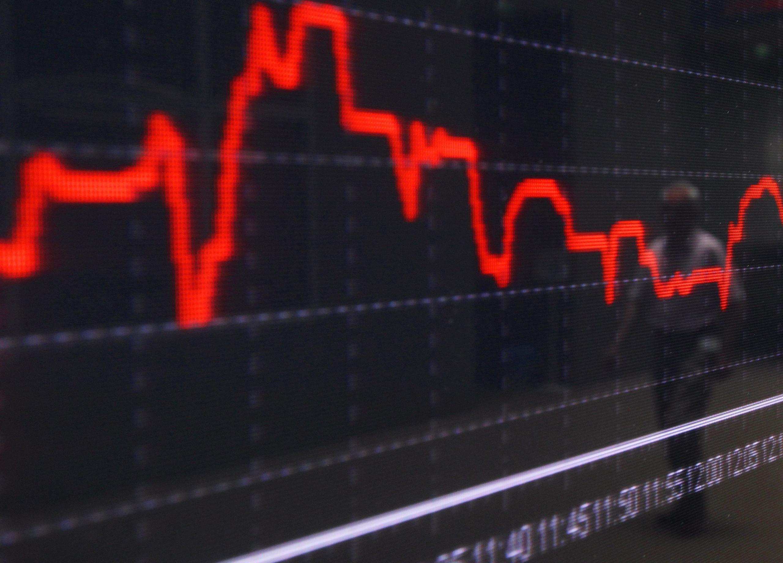 Bolsa de Nova Iorque negoceia em baixa pressionada por resultado da banca