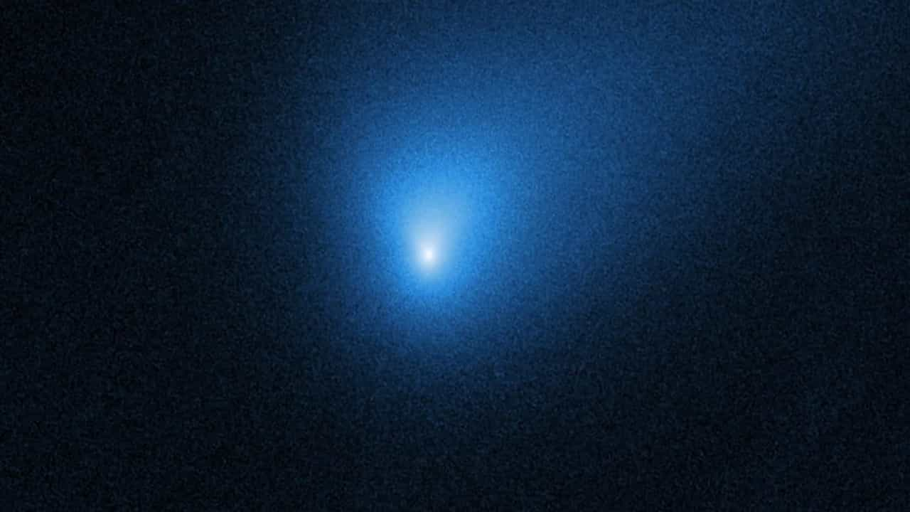Hubble captou as primeiras imagens do cometa interestelar