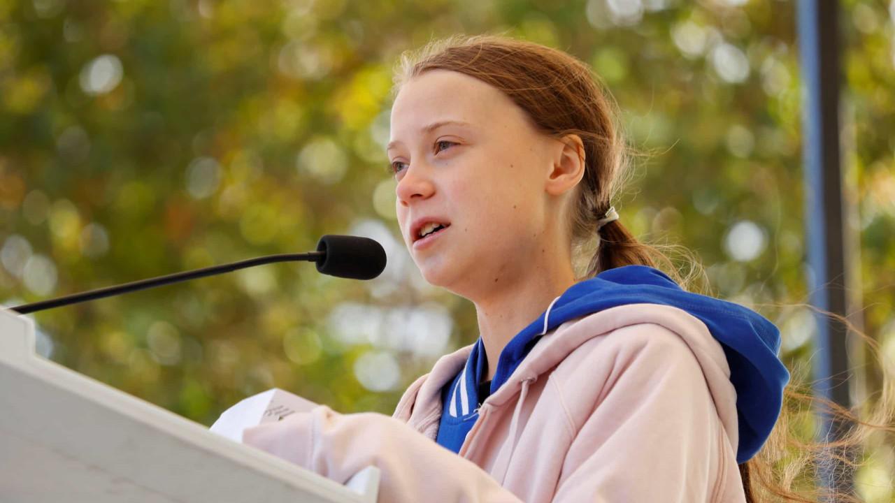 Greta Thunberg confirma presença em Portugal e em sessão no Parlamento