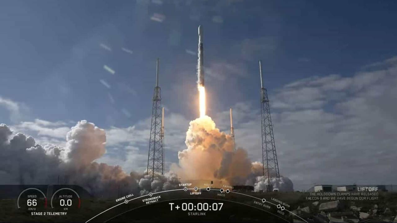 SpaceX falhou aterragem de propulsor de foguetão