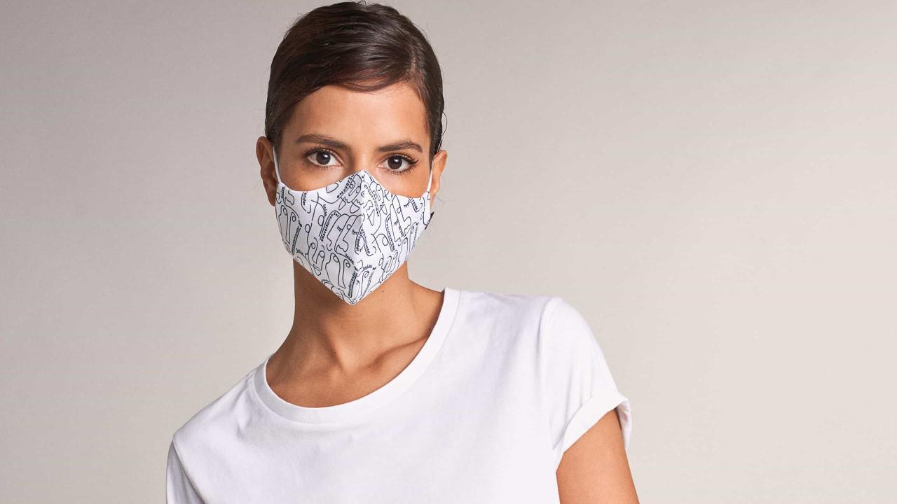 Salsa lança coleção de máscaras de proteção solidárias