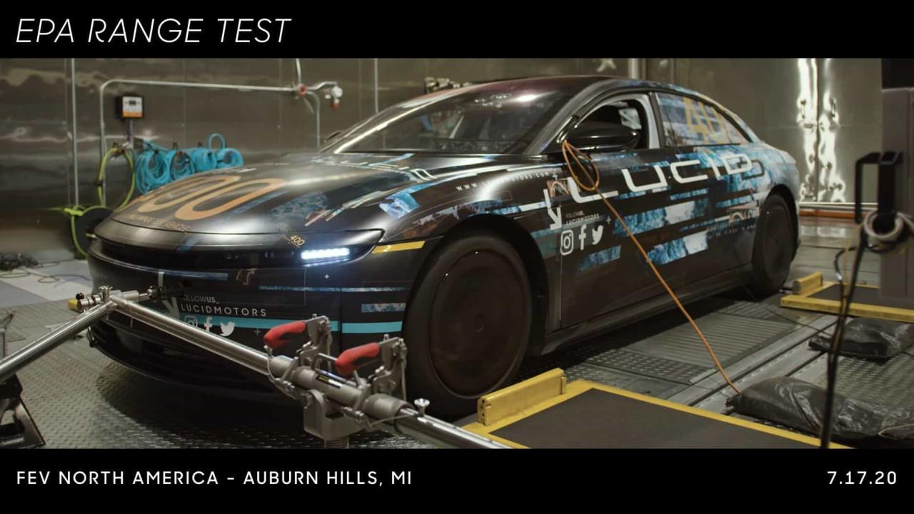 Lucid Motors apresenta carro com autonomia para mais de 800km