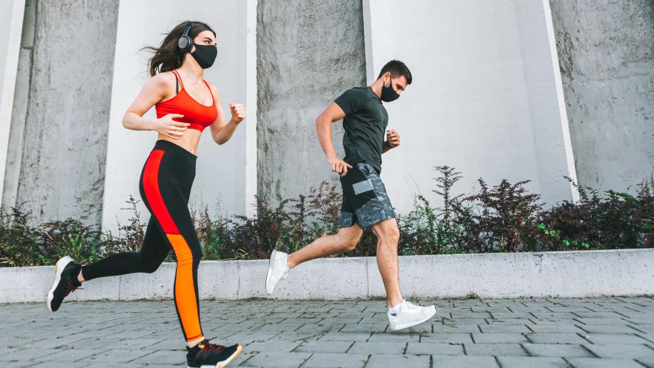 Covid-19: Corredores devem usar máscara para não infetarem os outros