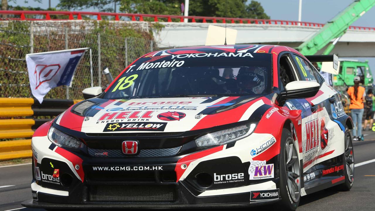 Tiago Monteiro frustrado com a participação no GP Macau - Notícias ao Minuto