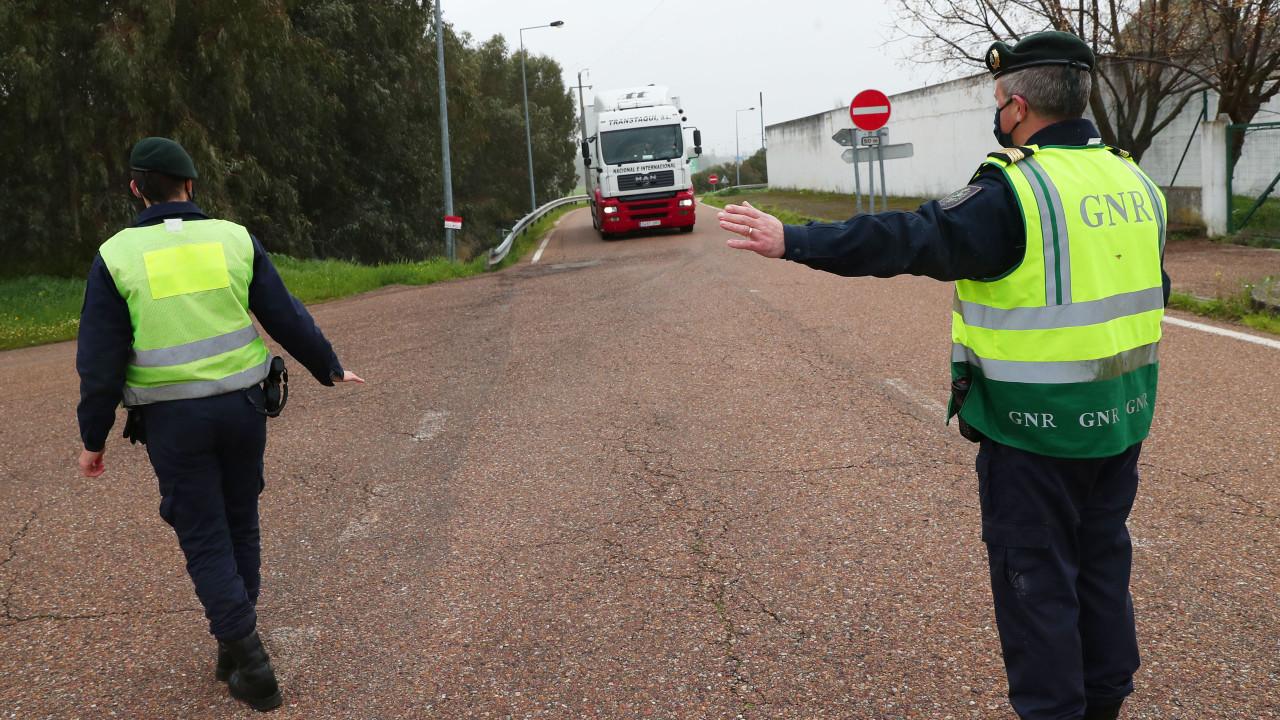 GNR vai estar nas estradas a fiscalizar veículos pesados esta semana
