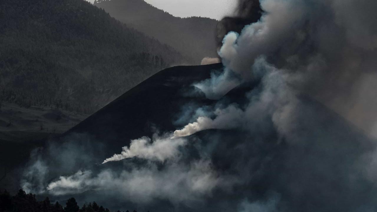 Alta sismicidade em La Palma com 79 tremores de terra hoje de madrugada