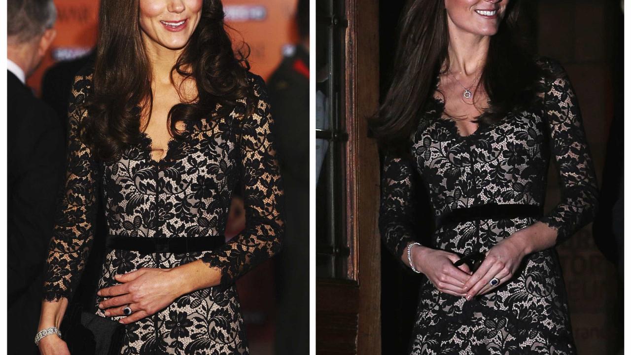 Kate Middleton dá nas vistas com vestido 'low cost' de 18 euros