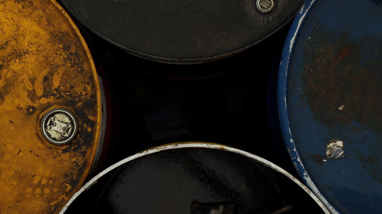 Preço do barril Brent desce 0,48% para 22,71 dólares