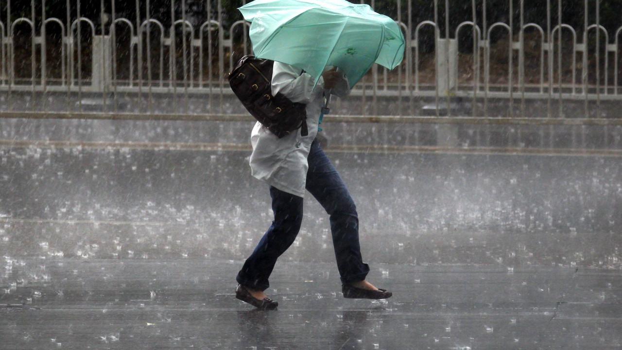 Outono chega com aviso amarelo em três distritos a Sul devido à chuva