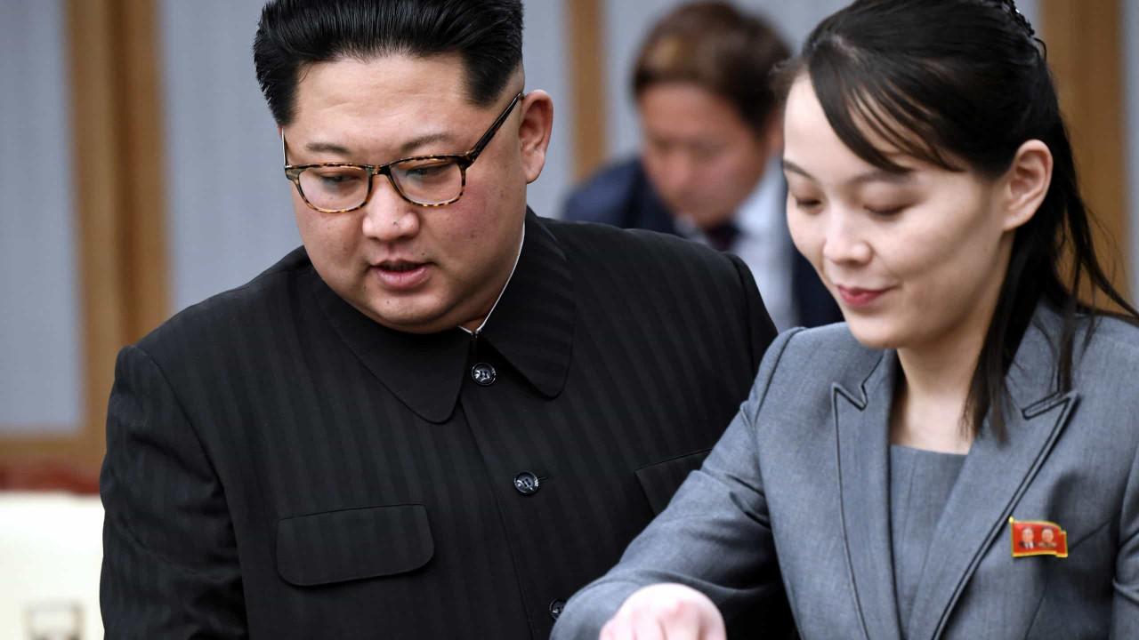 """Expectativas de diálogo dos EUA vão """"desapontá-los"""", diz Kim Yo Jong"""