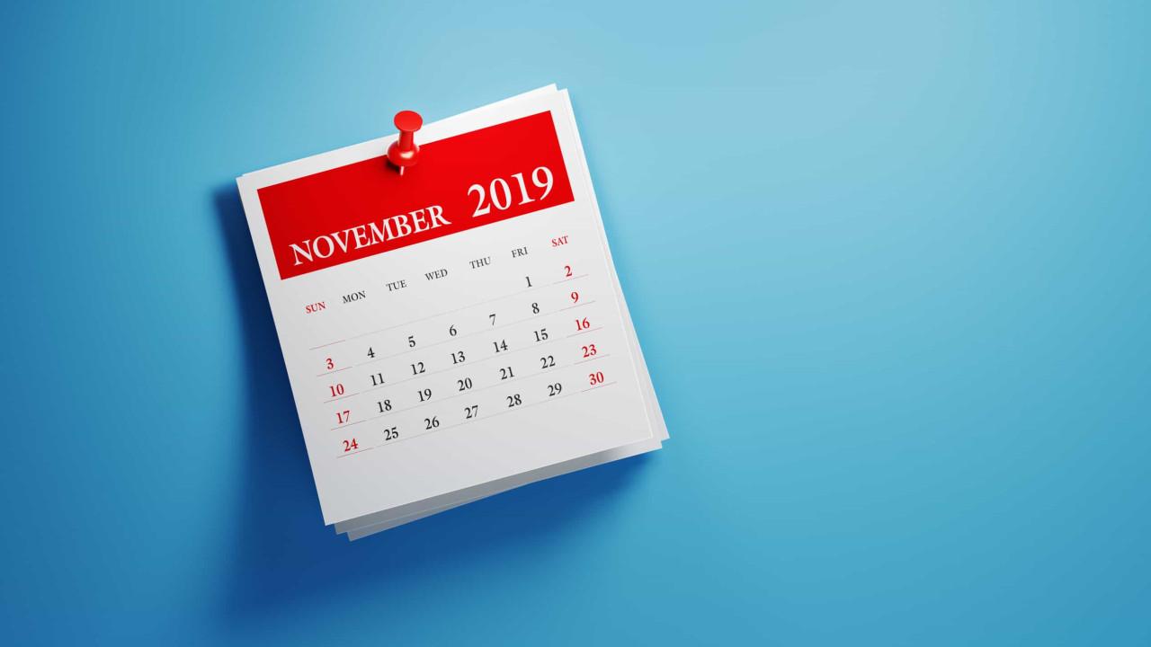 O pacote de outono e outras 3 coisas que deve saber para começar o dia