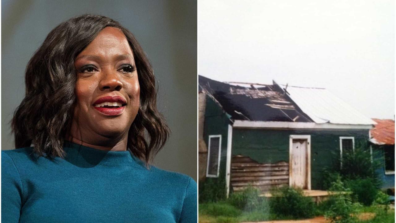 No dia em que fez 55 anos, Viola Davis comprou a casa onde nasceu