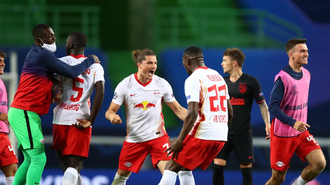 Atlético sem asas sucumbe ao poderio alemão e está fora da Champions