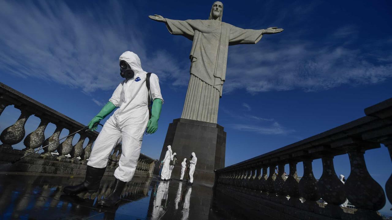 Covid-19: Brasil reporta mais 60.091 casos e 1.262 mortes em 24h