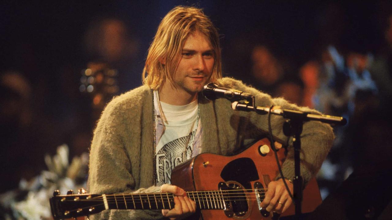 Foram leiloados seis fios de cabelo de Kurt Cobain