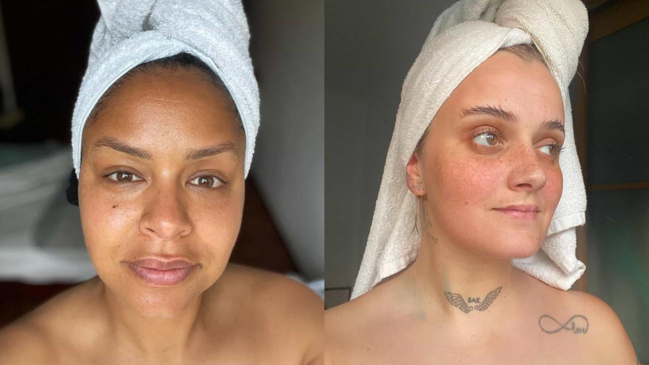 """""""Cara lavada"""". Carolina Deslandes inspira-se em foto de Cláudia Semedo"""