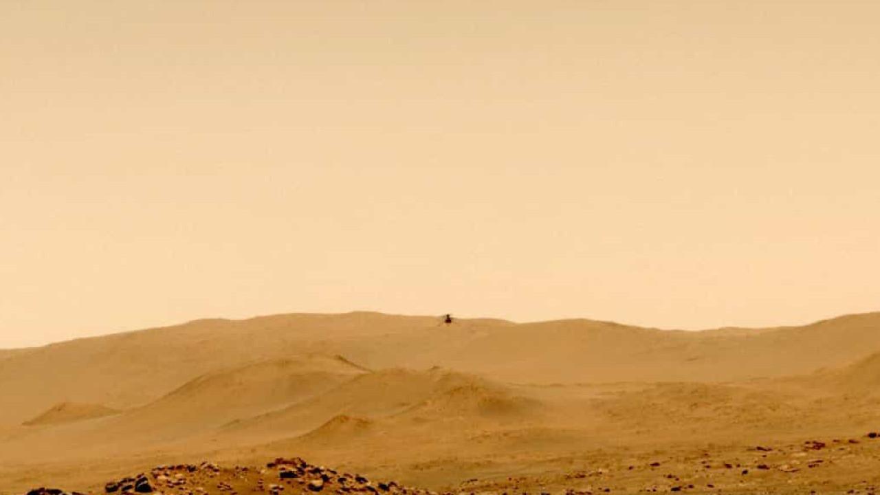 Helicóptero Ingenuity completou o seu oitavo voo em Marte