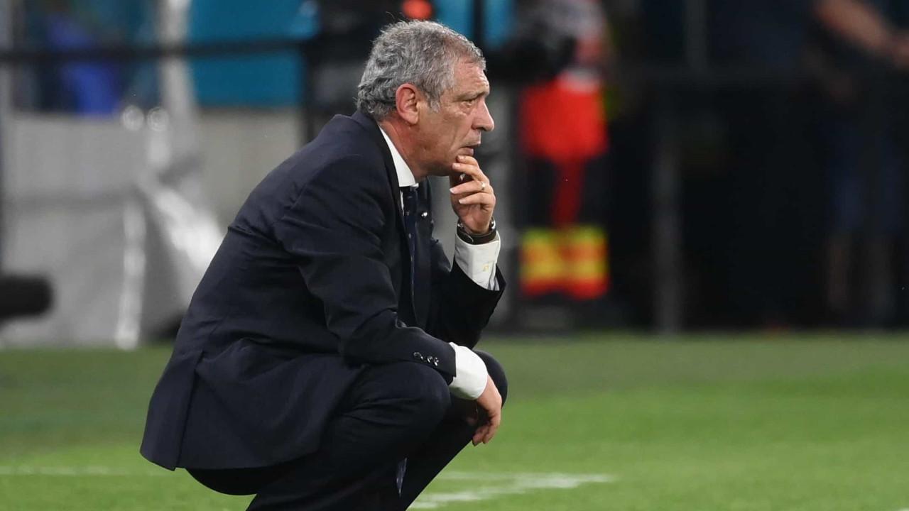 """Fernando Santos: """"Se não jogarmos bem, a forte probabilidade é perder"""""""