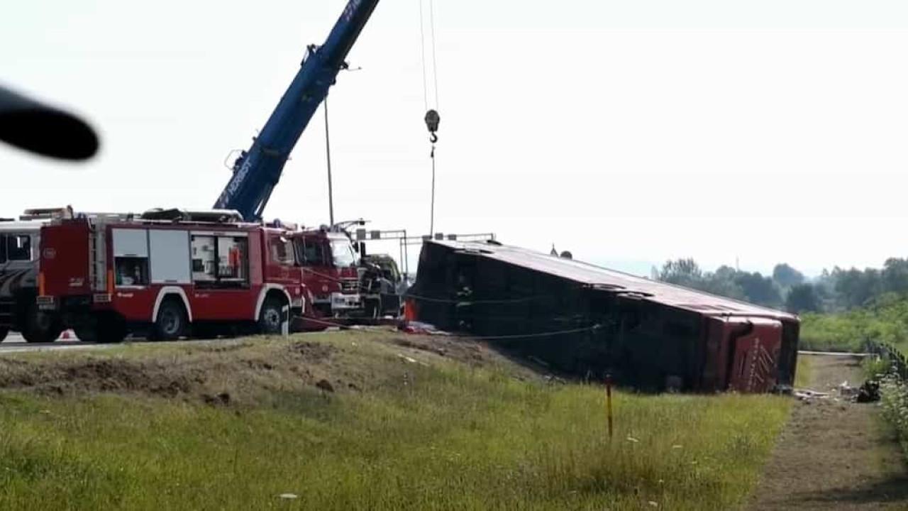 Despiste de autocarro na Croácia faz 10 mortos e 45 feridos