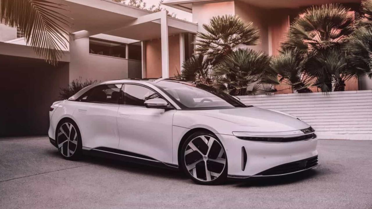 Carro da Lucid tem 836km de autonomia. Mais do que um Tesla