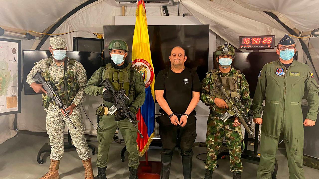 Colômbia detém Dario Usuga, o narcotraficante mais procurado no país