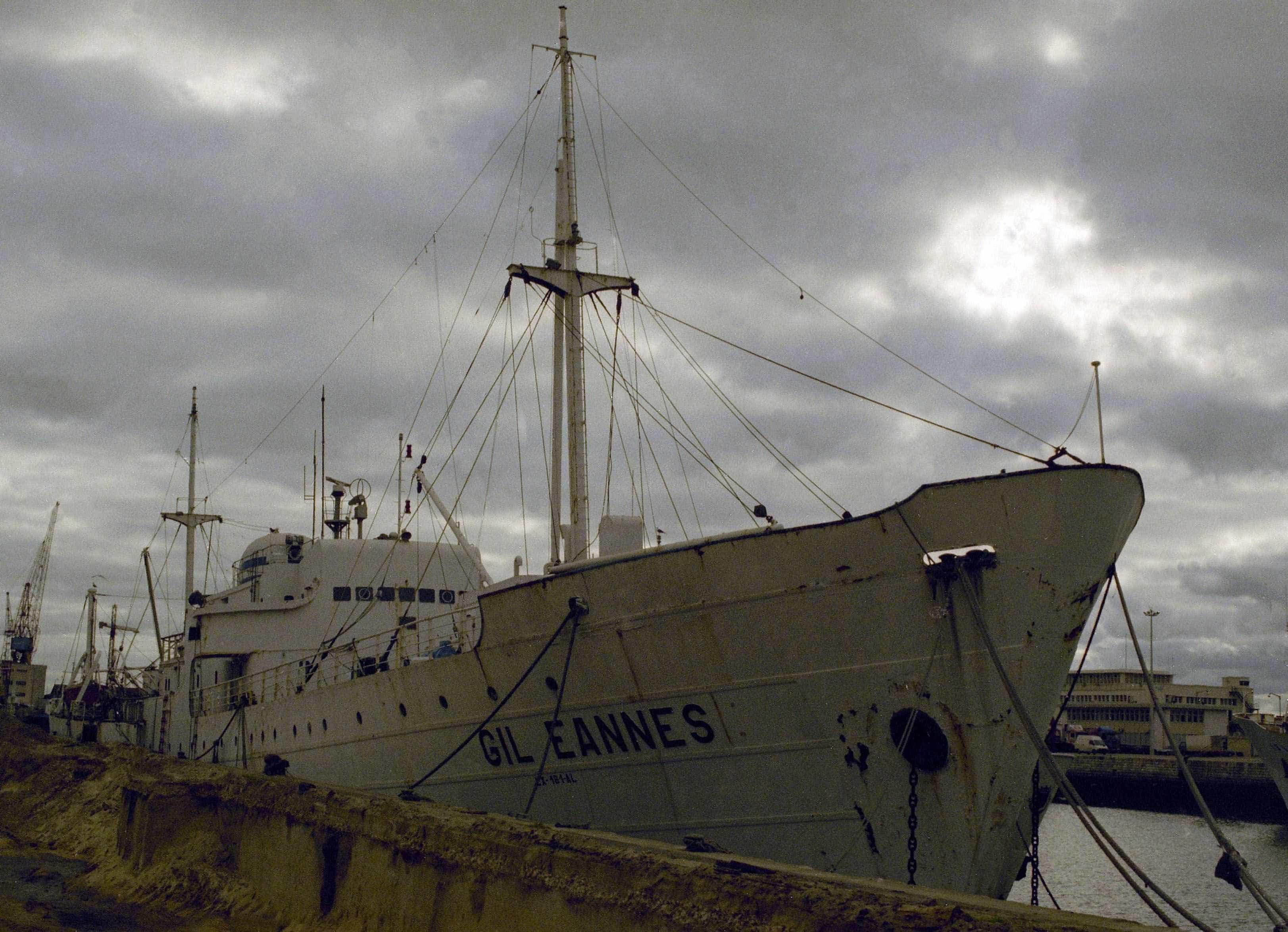 Navio-museu Gil Eannes pela primeira vez na BTL com 'stand' próprio