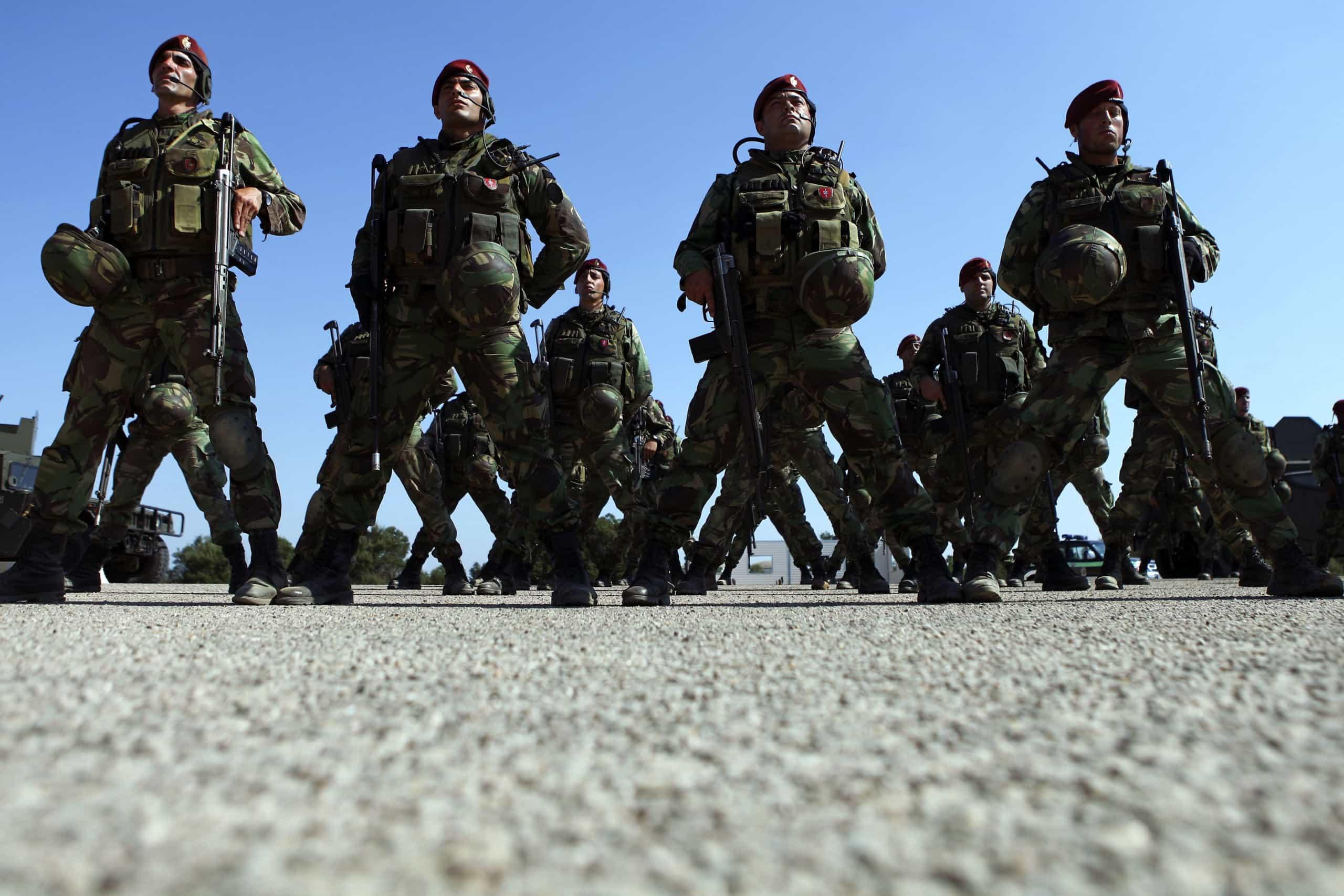 Proposta de lei das infraestruturas militares prevê 262 milhões até 2030