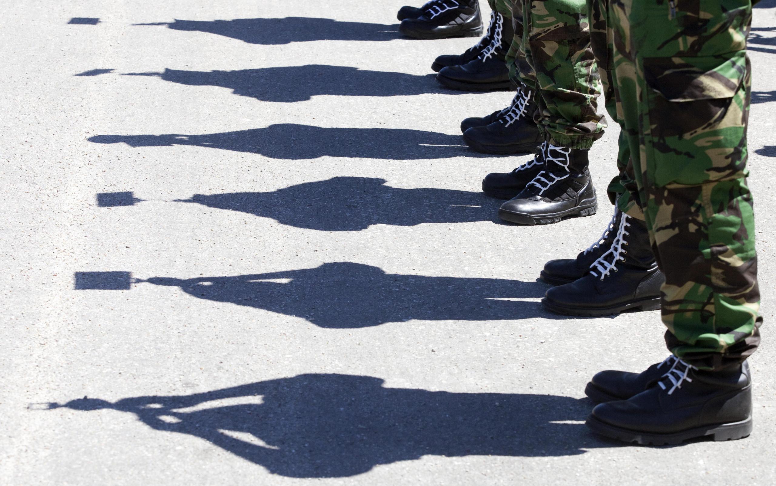 Militares portugueses são insuficientes e estão insatisfeitos