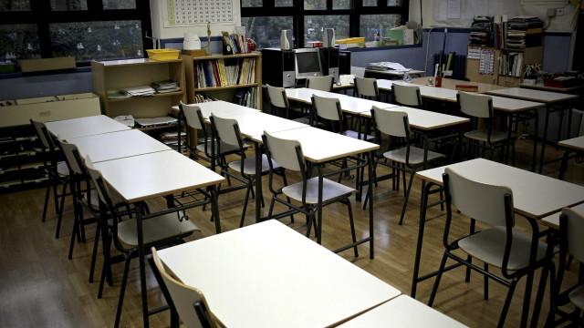 Professores em greve às atividades nas escolas nas férias da Páscoa