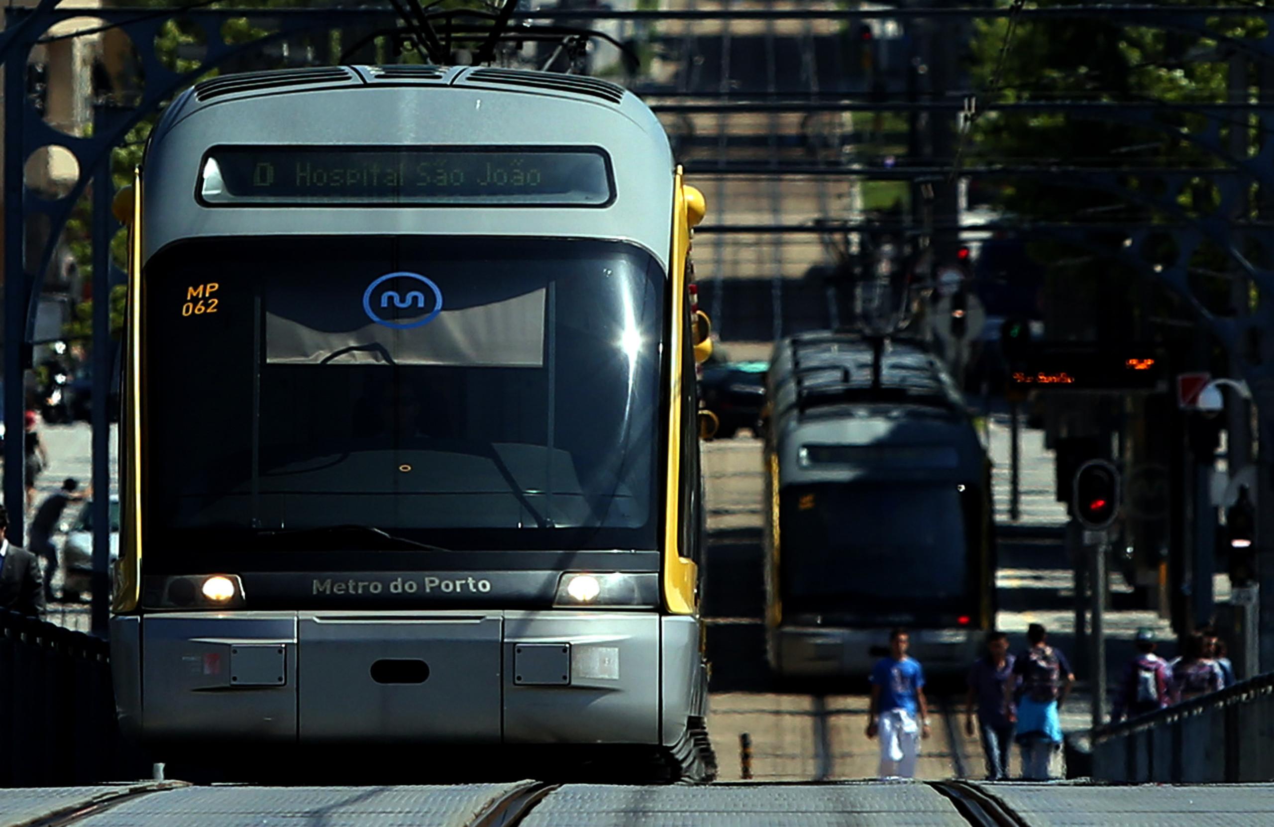 Circulação do metro do Porto condicionada durante fim de semana