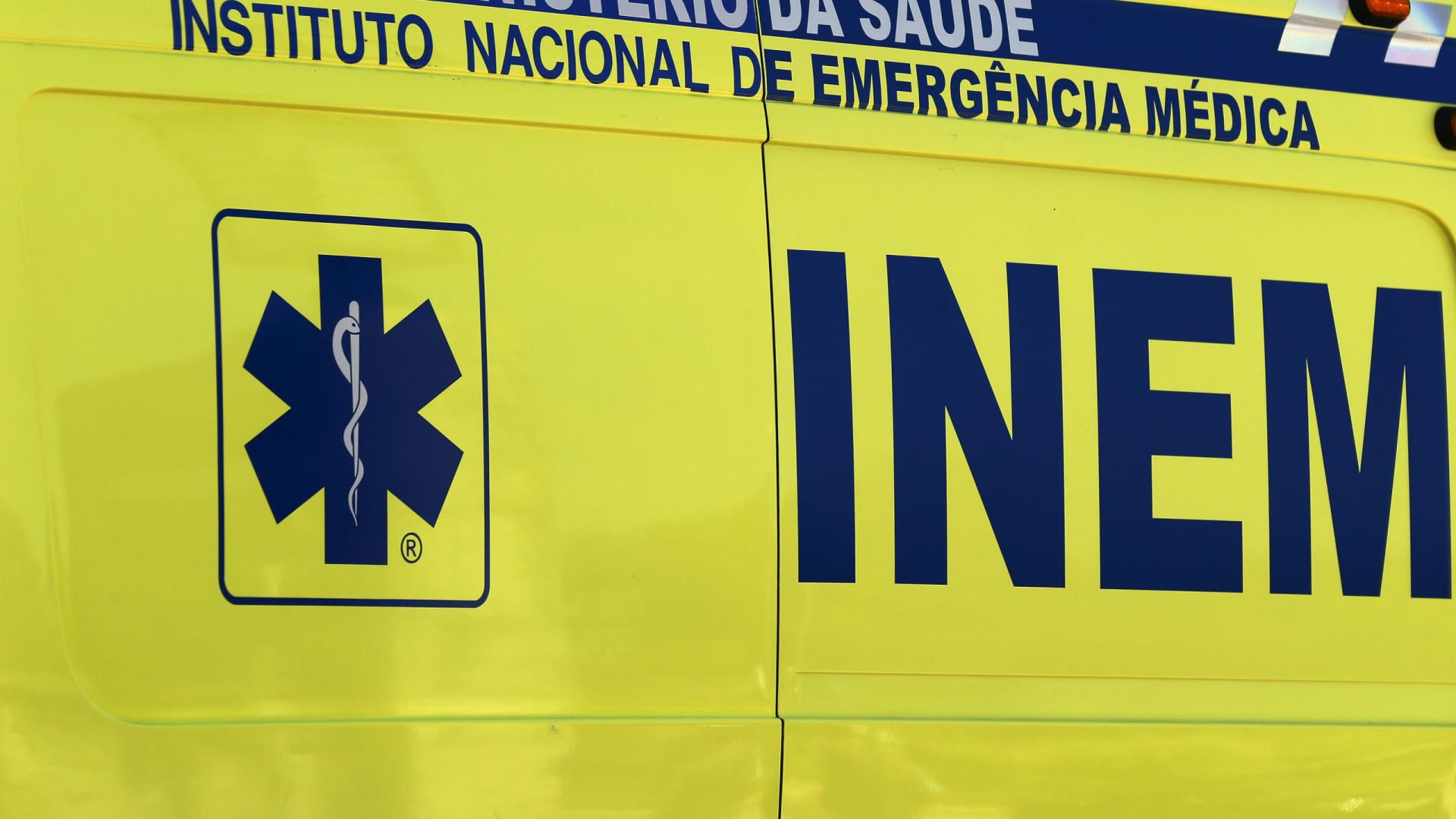 Incêndio em Paredes faz um ferido grave, poderá haver segunda vítima