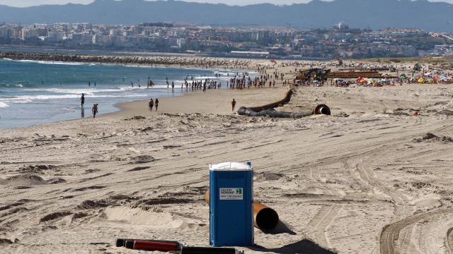 Reforço de areia nas praias da Costa vai custar 6,3 milhões de euros