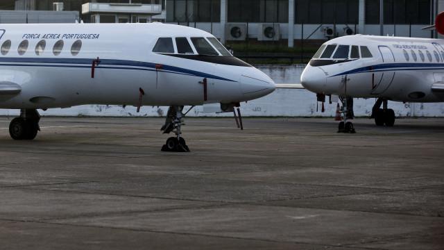 Força Aérea tem três aviões prontos a descolar para a Madeira