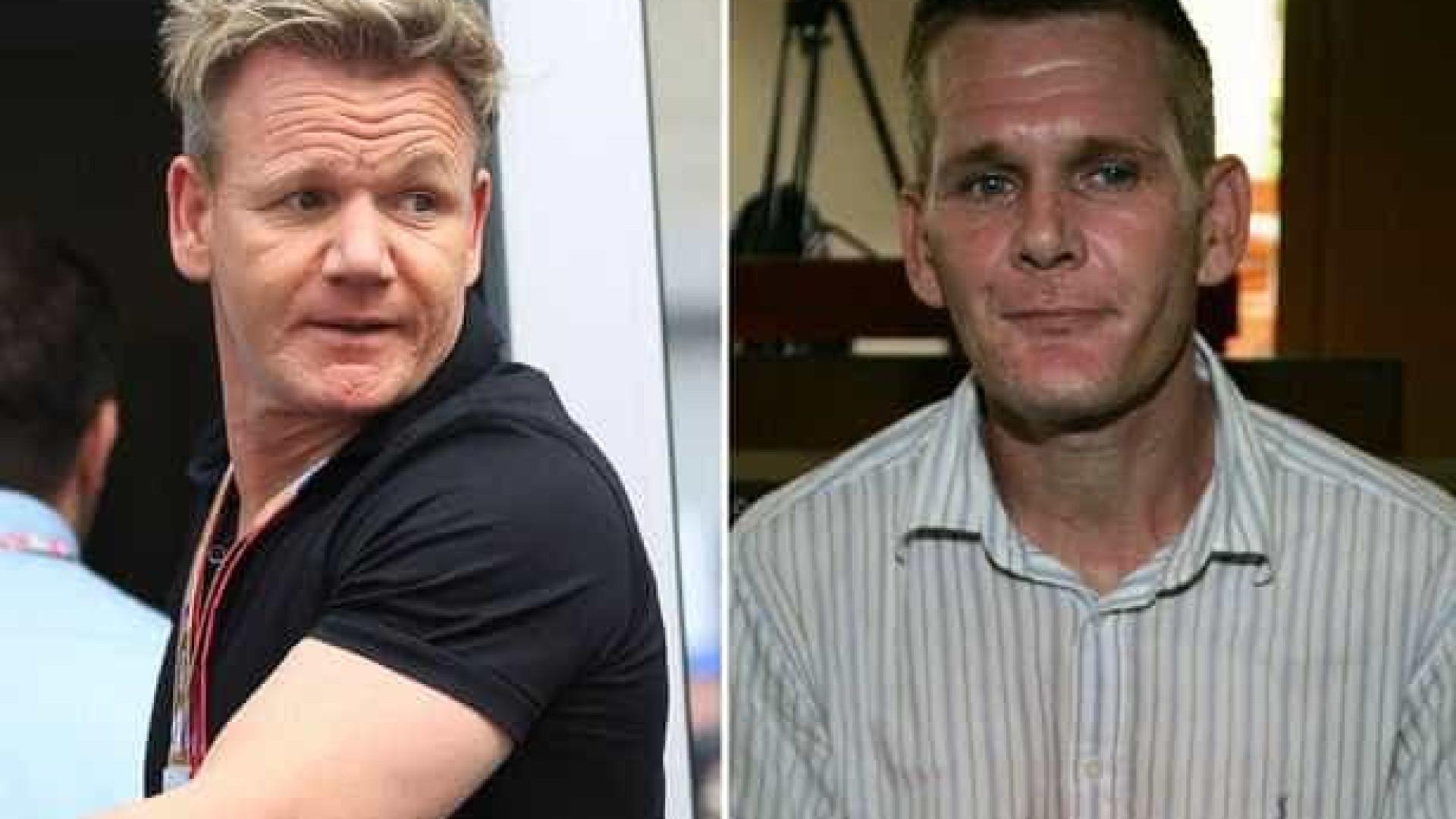 ba8fe1037c Gordon Ramsay sofre por irmão viciado em heroína
