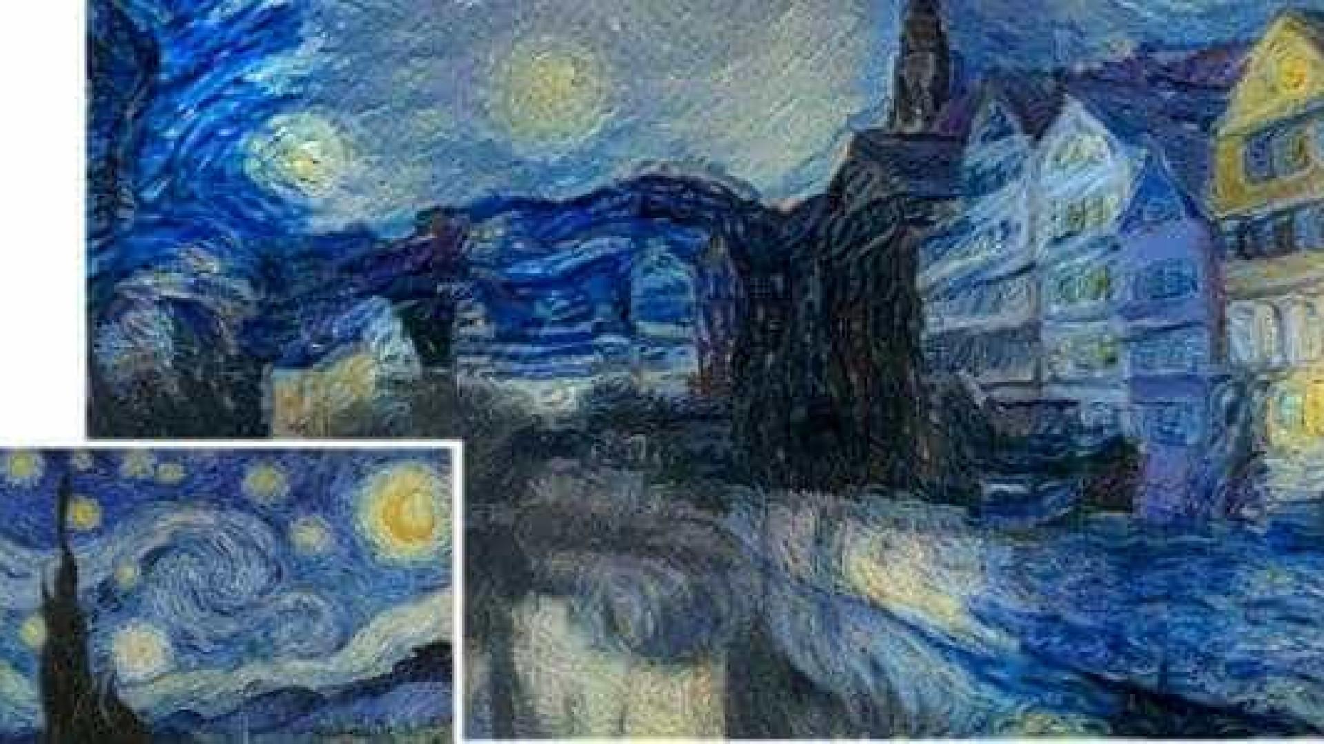 Talento de pintores famosos recriados com algoritmo