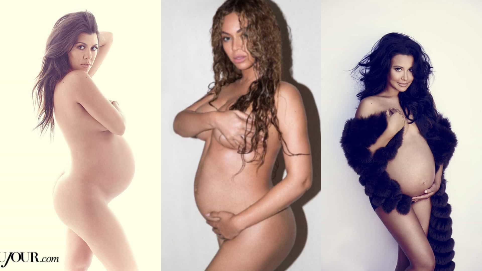 Fotos Mulheres Famosas Nuas famosas que posaram nuas durante a gravidez