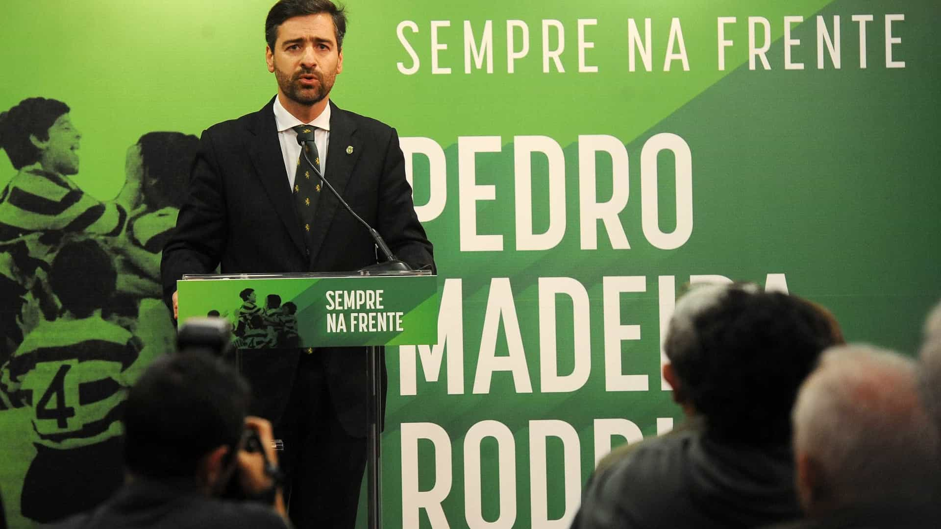 """Sei que vou ser presidente do Sporting"""