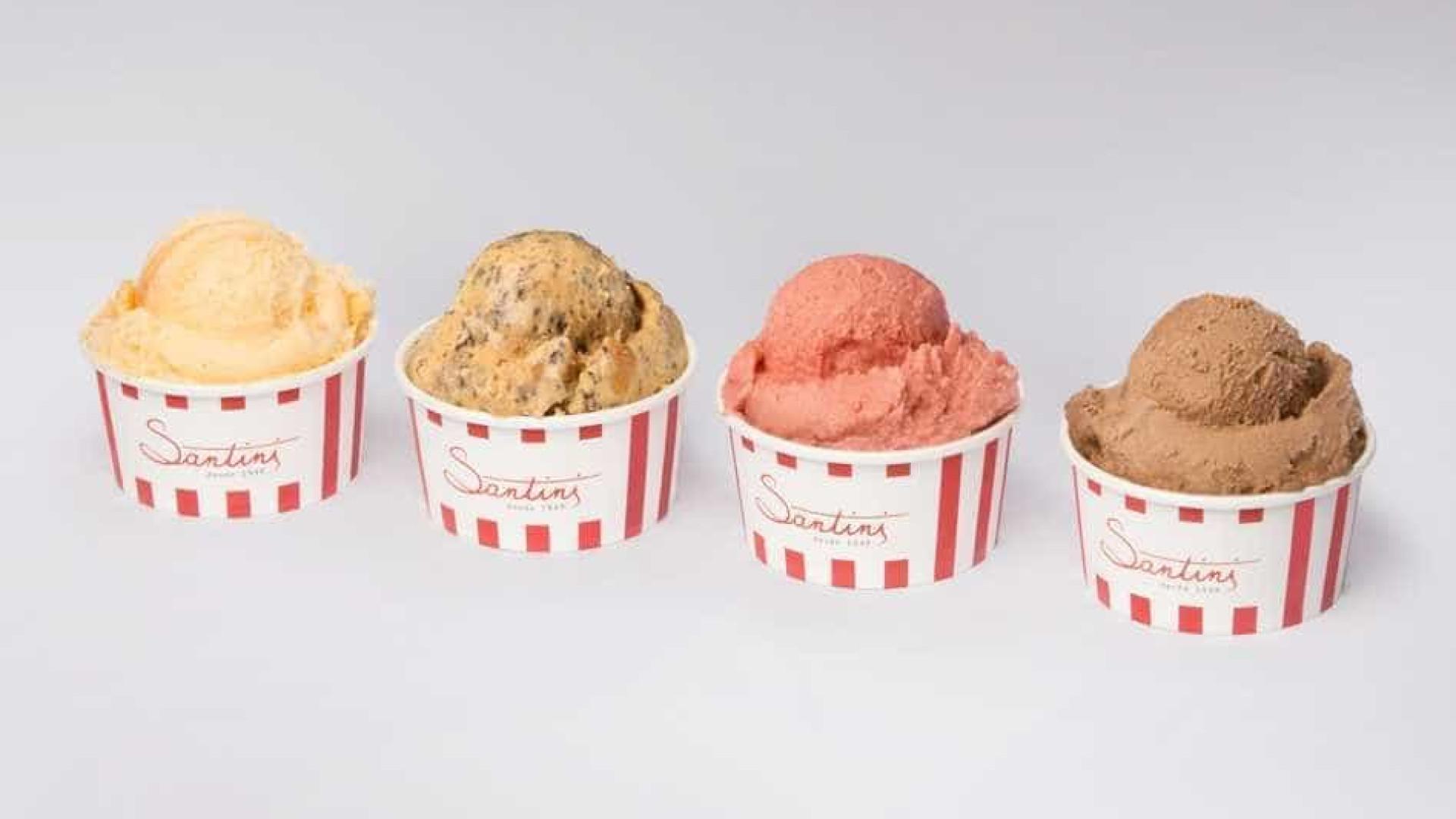 c180444a9 Este sábado a Santini oferece um gelado igual ao que comprar