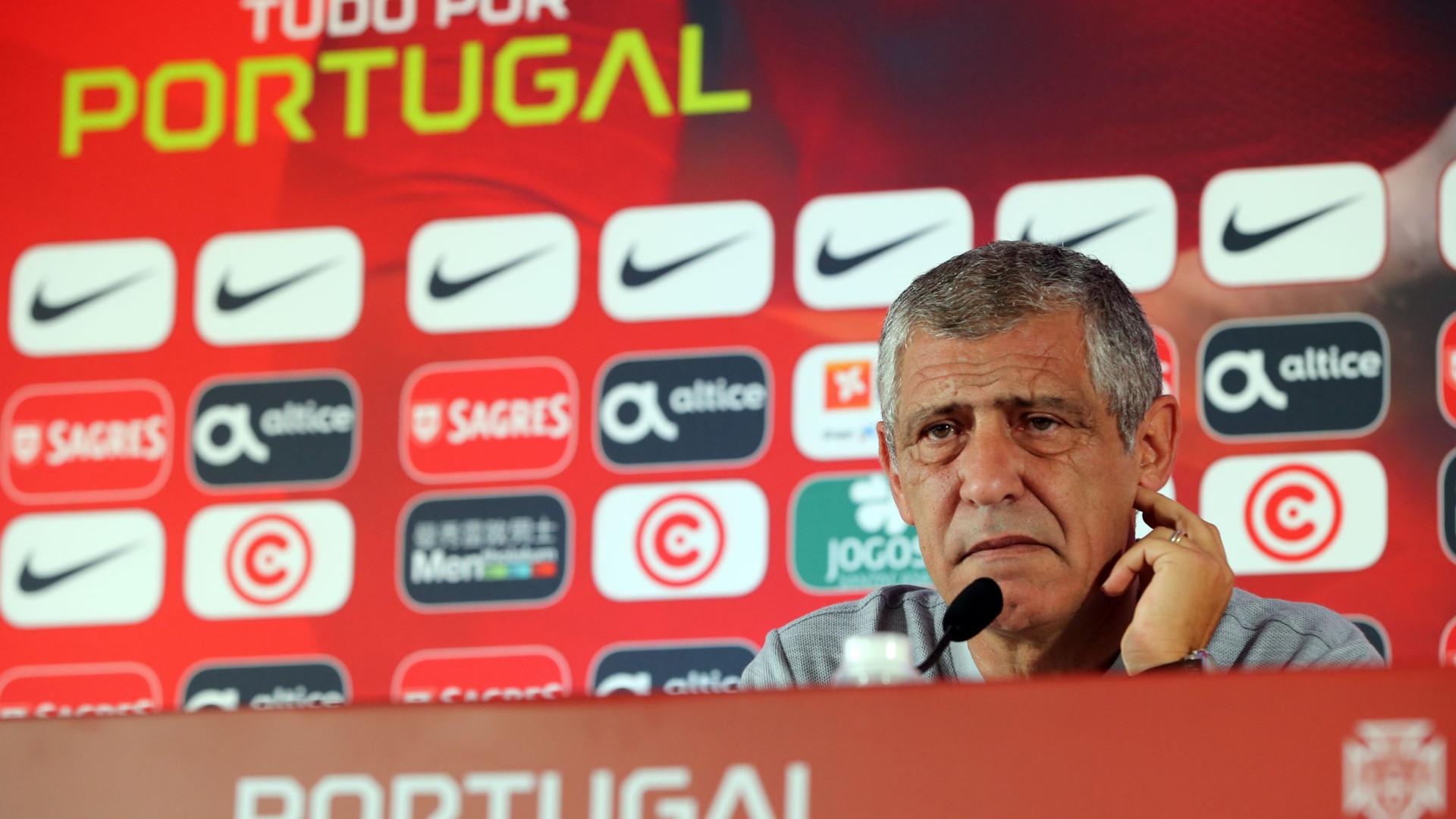 Fernando Santos deixa Ronaldo de fora da convocatória para