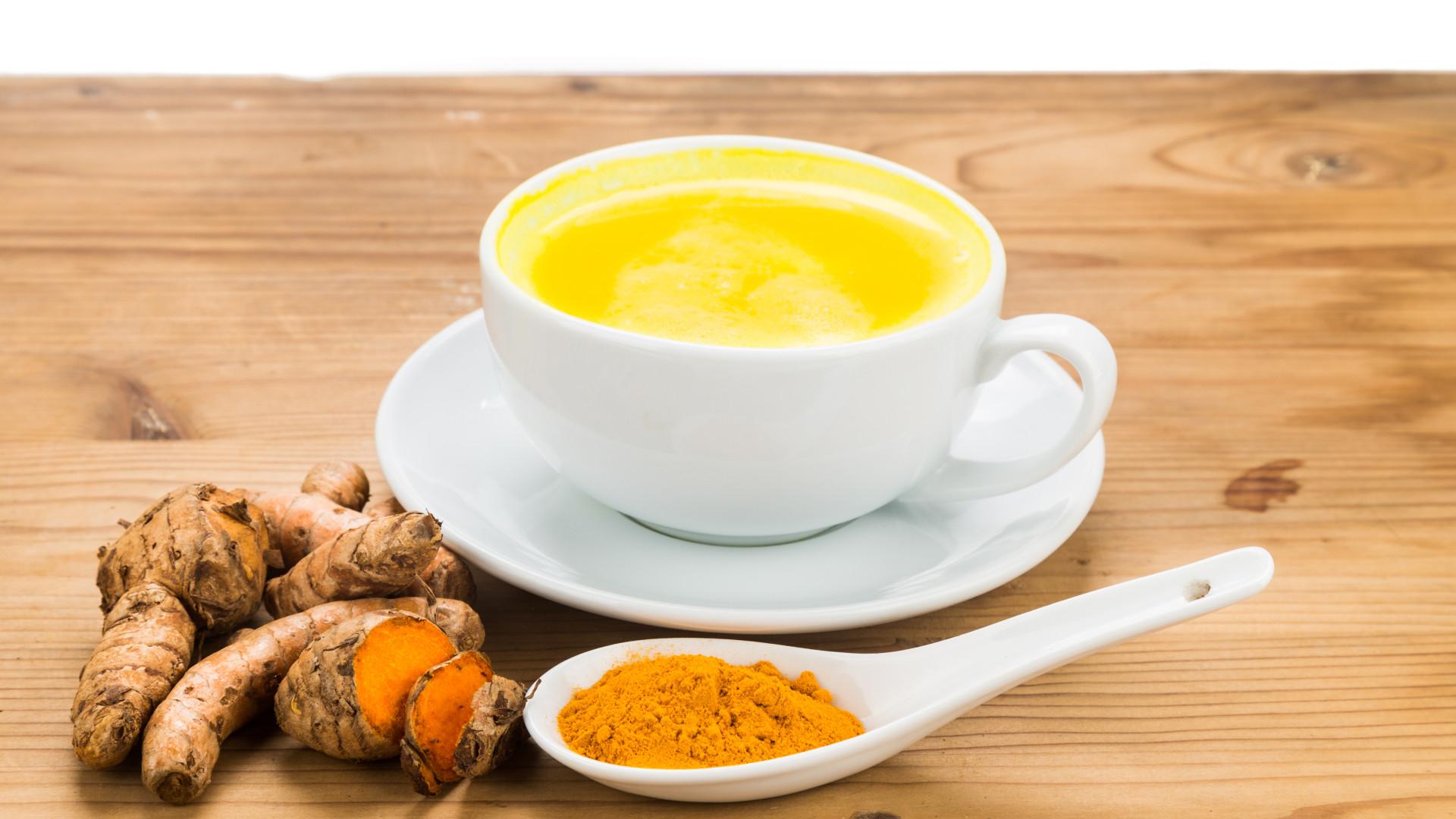 Chá de cúrcuma: Emagrece, combate colesterol e diabetes
