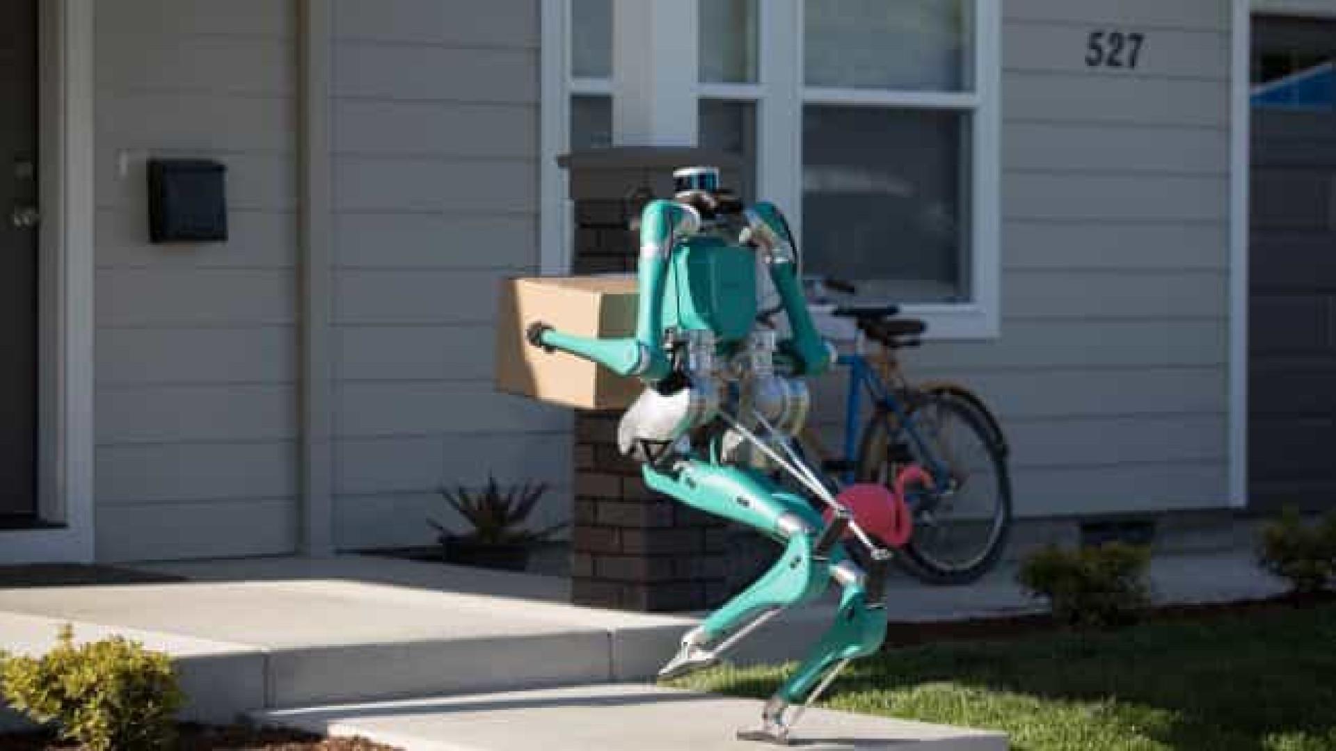 A Ford criou um carteiro robot para lhe entregar as suas encomendas