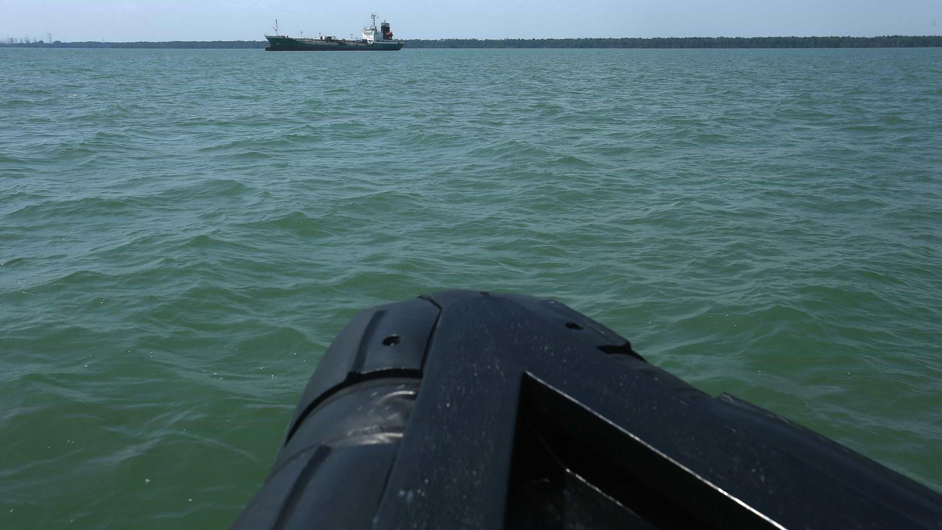 Golfo da Guiné já registou 78 ações de pirataria no primeiro semestre