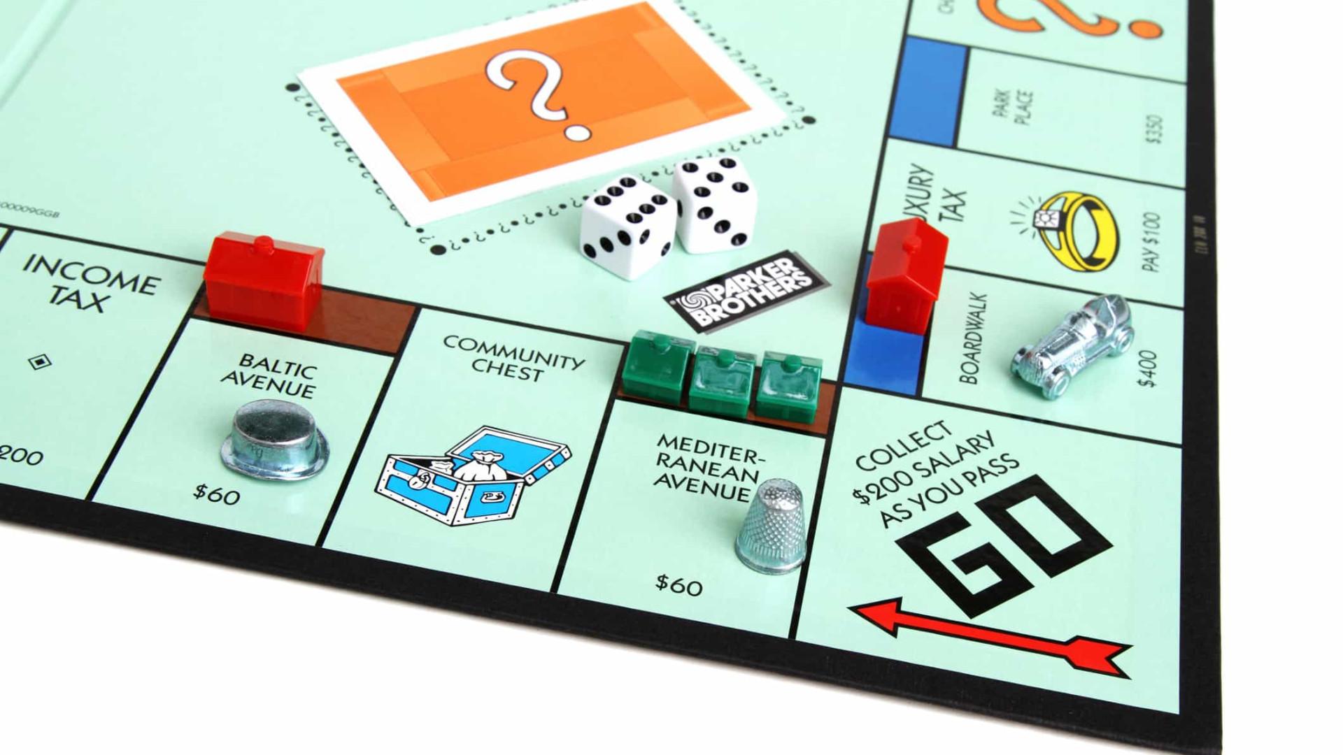 Conhece o Monopólio? Há sete lições financeiras a aprender com o jogo