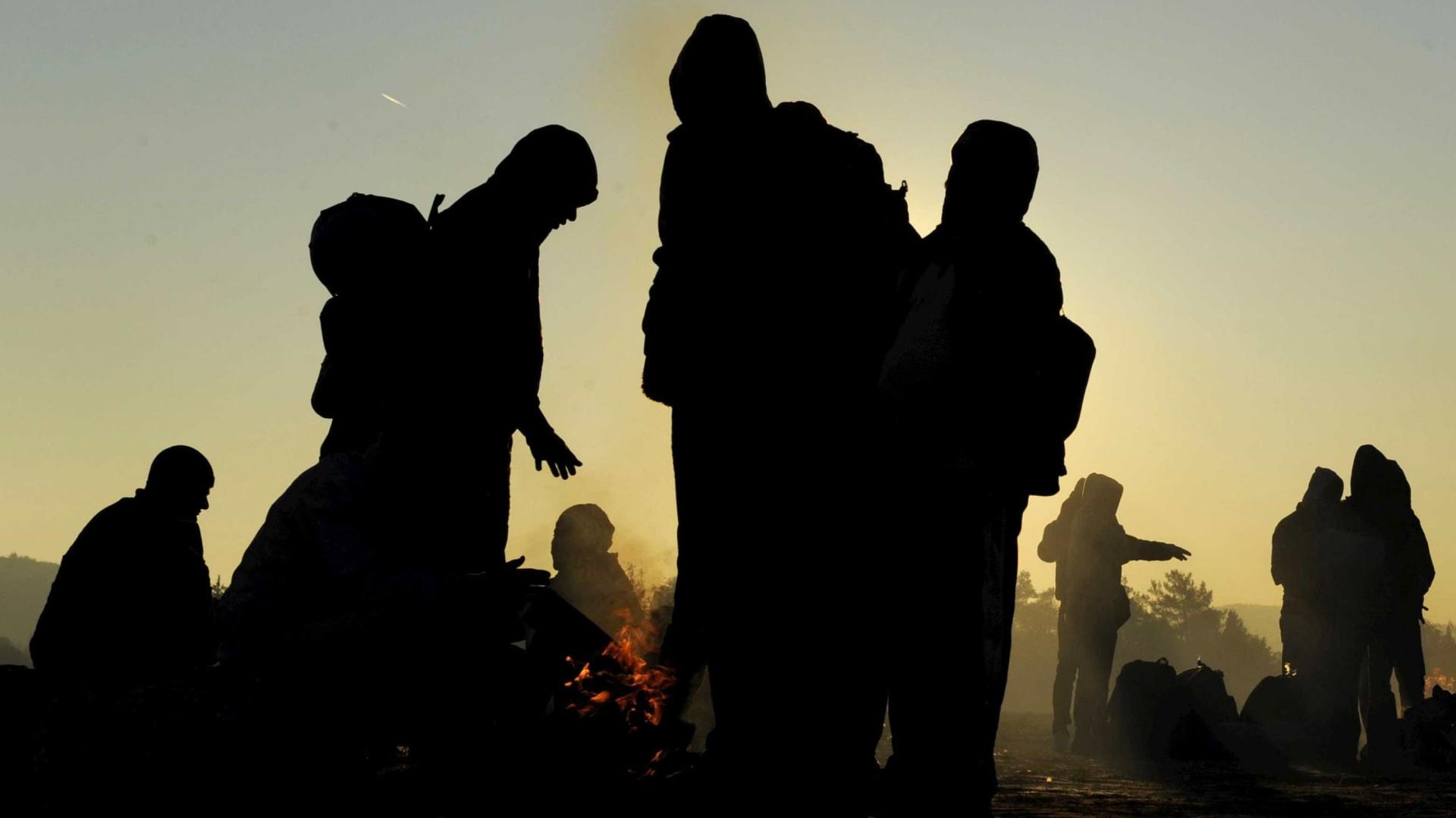 Chegaram hoje a Portugal 16 refugiados sírios e sudaneses