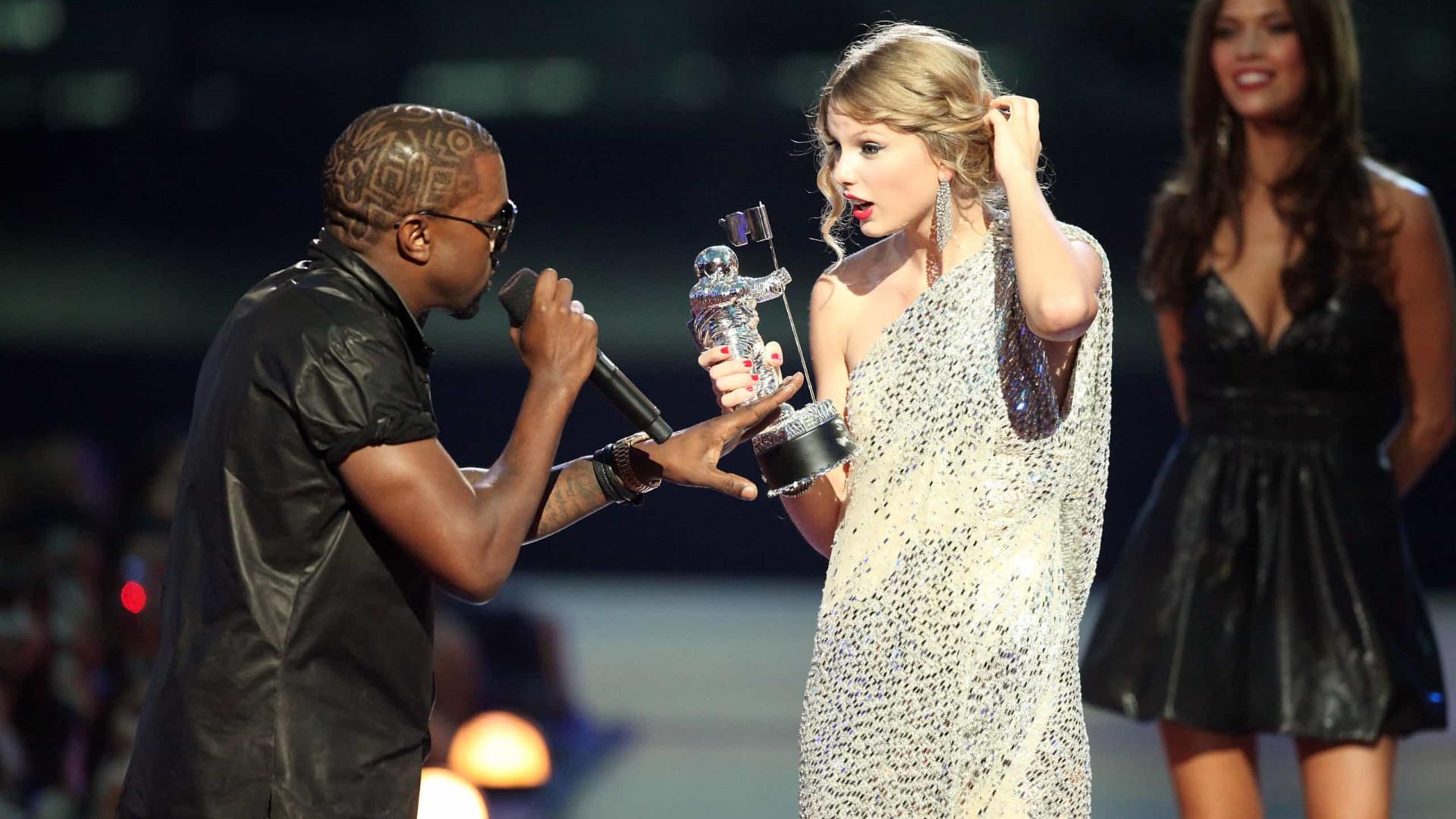 Beyoncé chorou quando Kanye West arruinou momento de Taylor Swift