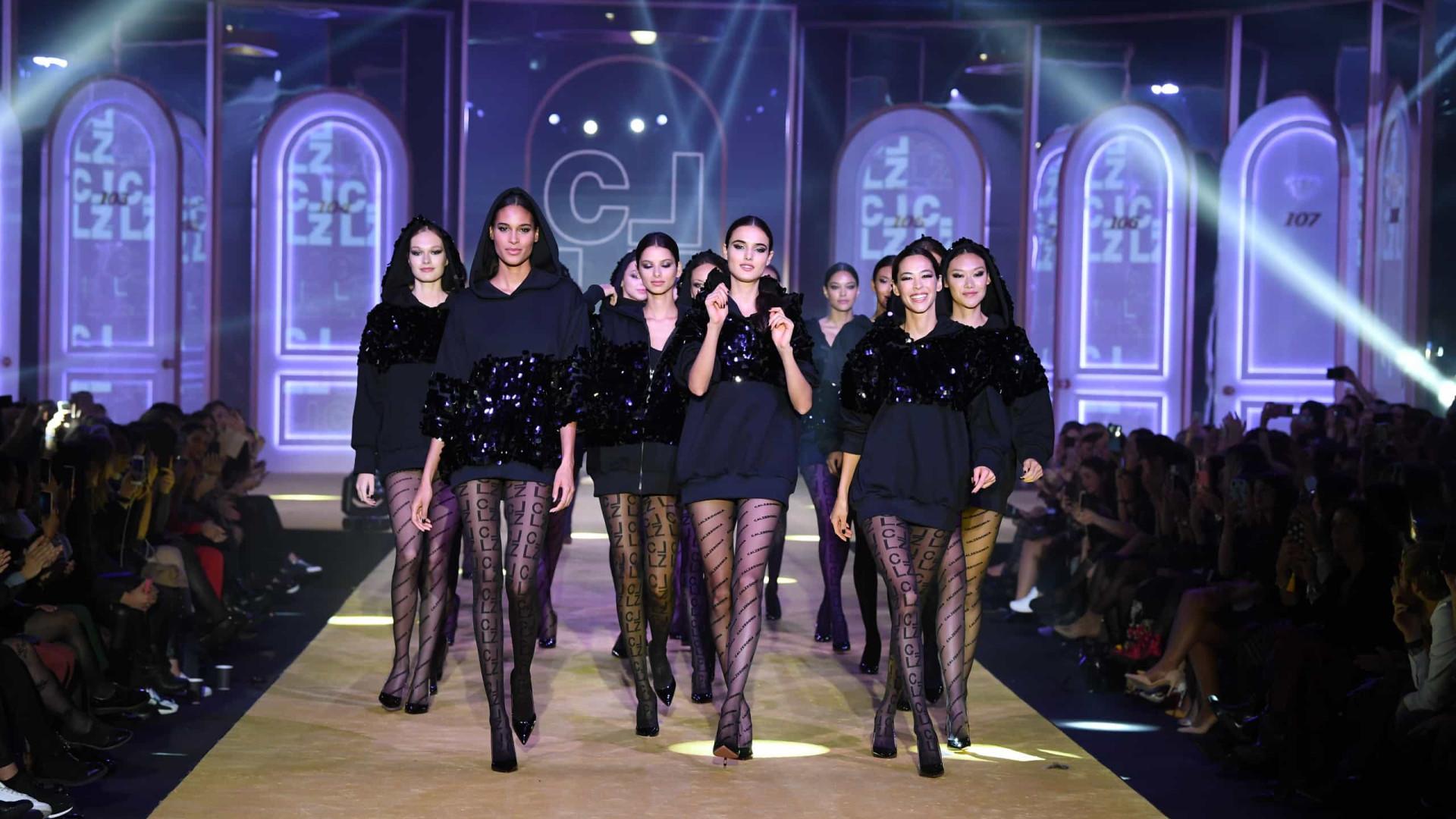Calzedonia Legshow 2019: A moda começa a partir dos collants