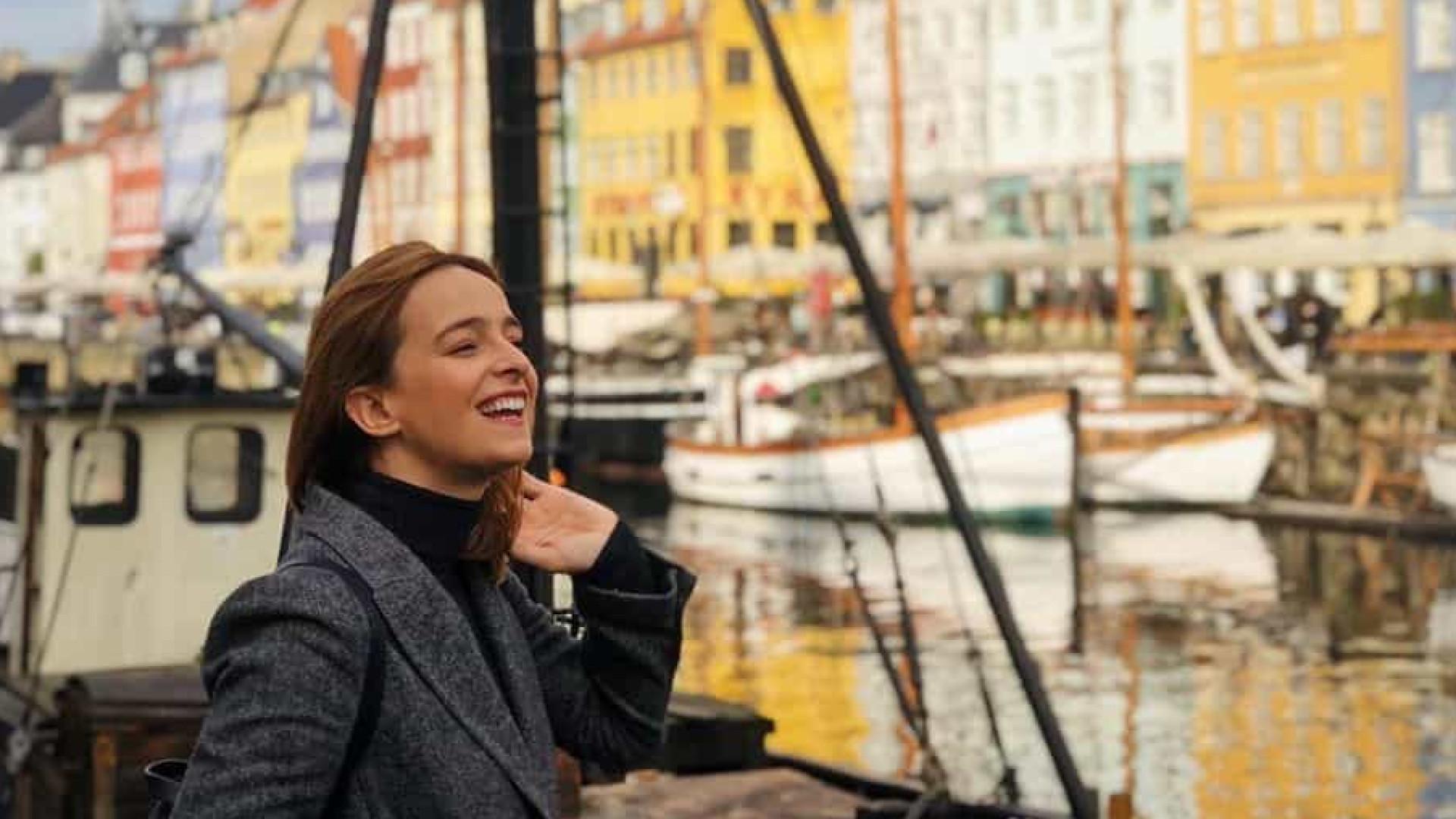 As férias românticas continuam. De Oslo, Sara Prata viaja para Copenhaga