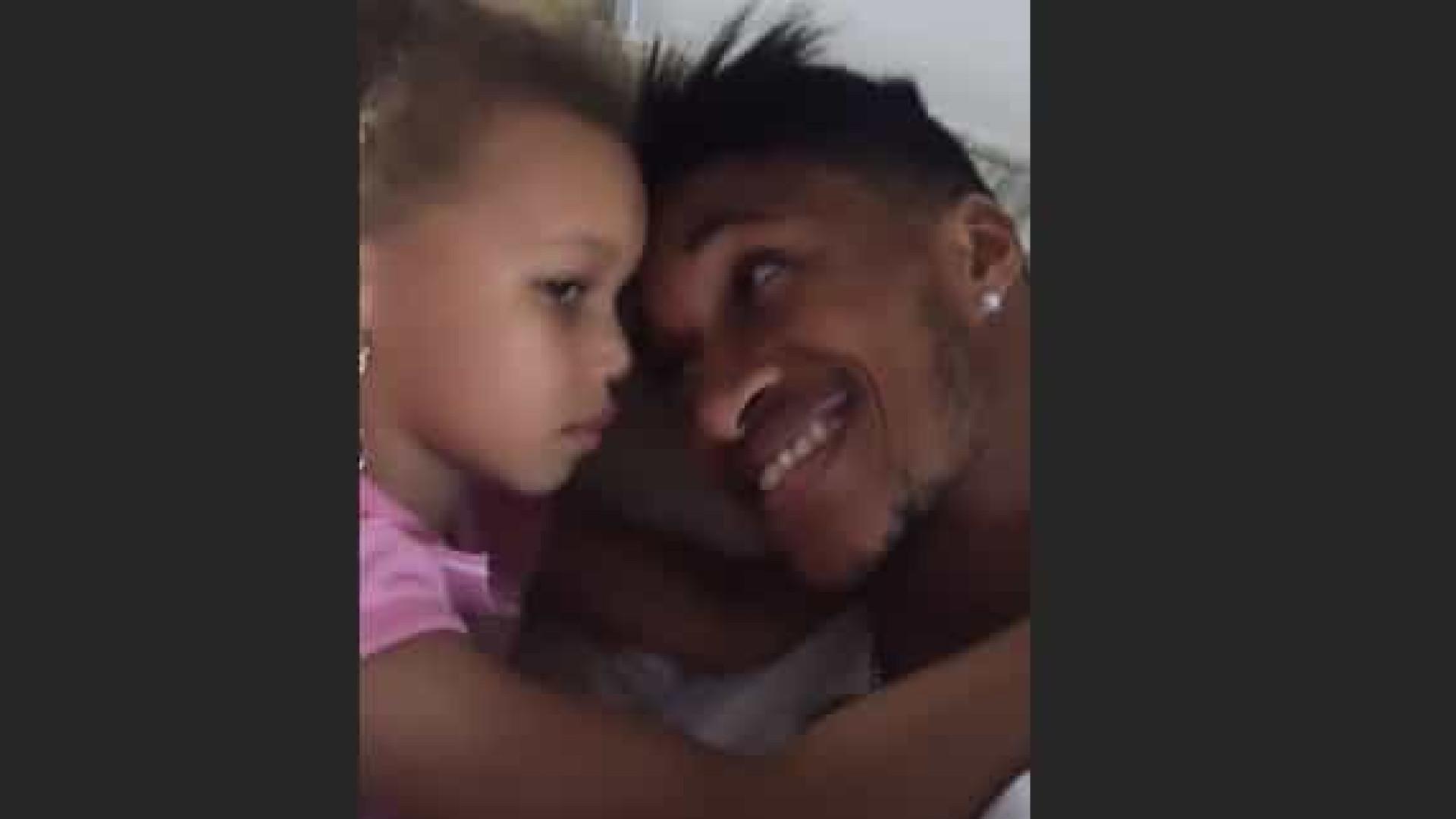 Yannick Djaló revela imagens nunca antes vistas ao lado da filha Leyonce