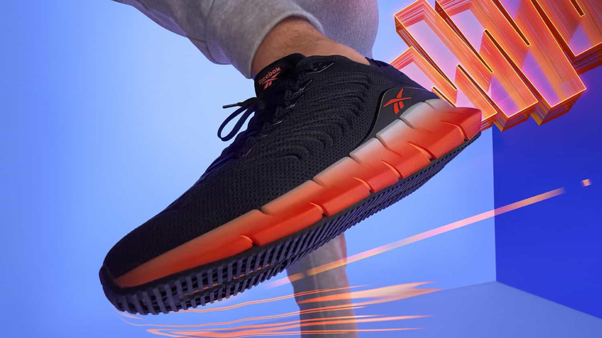 Reebok apresenta sapato que canaliza e retorna energia a cada passo